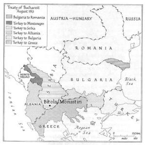 Els Balcans després de les Guerres Balcàniques dels anys 1912-1913